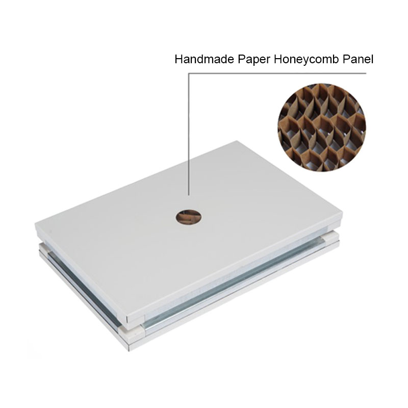 Handmade Paper Honeycomb Sandwich Panel For Cleanroom